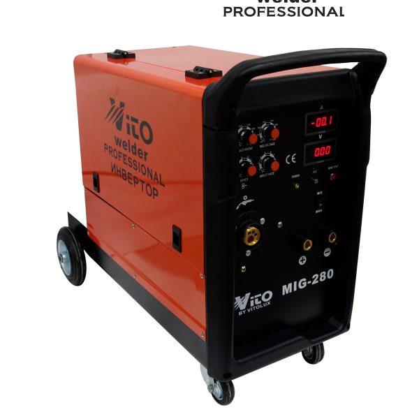 MIG 280 с електрожен